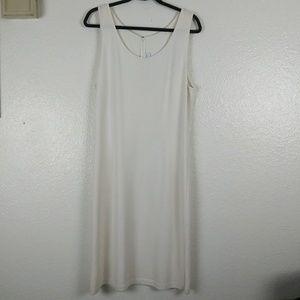 St. John Collection Cream Wool Blend Dress. 12